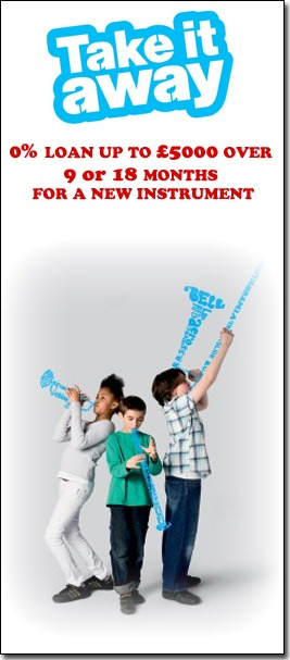 Financing a new instrument with Take It Away