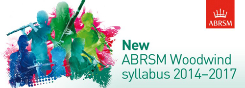 The New 2014 ABRSM Woodwind Syllabus at Howarth