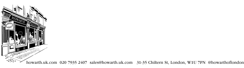 howarth of london contact details